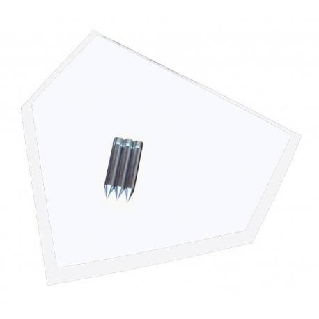Homeplate 3 pins