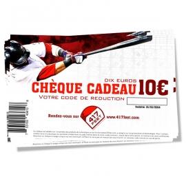 Cheque cadeau 417feet 10 Euros