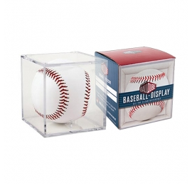 Cube transparent pour balle de baseball collector
