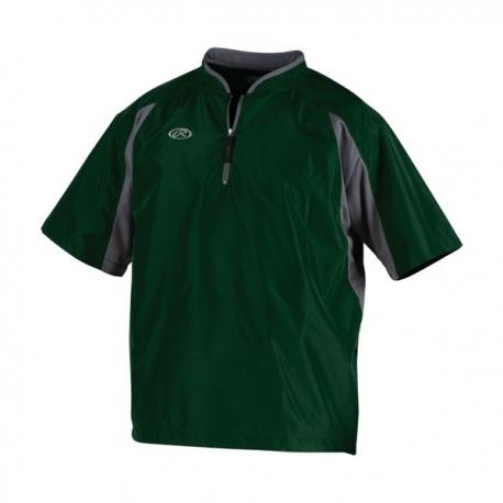 Batting Jacket Rawlings TOOCJ Dark Green