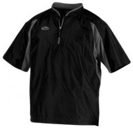Batting Jacket Rawlings TOOCJ noir