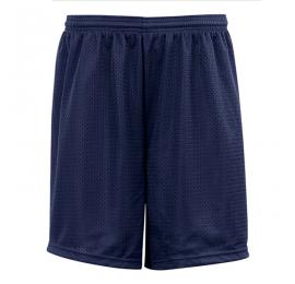 Short Badger Navy sans poche