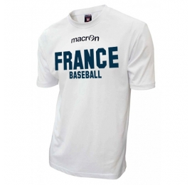 T-shirt Officiel Equipes de France BLANC