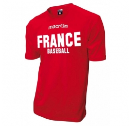 T-shirt Officiel Equipes de France ROUGE