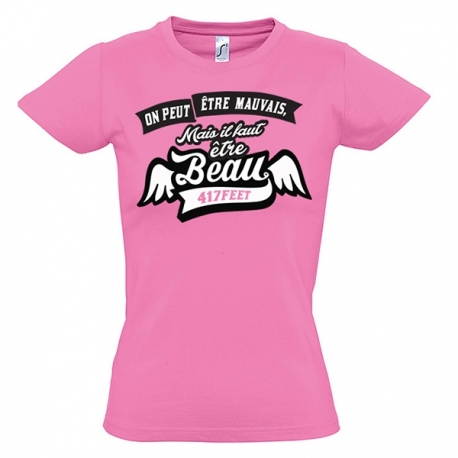 T-shirt femme On Peut