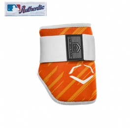 EVOSHIELD Batter's Elbow Guard Orange speed stripe