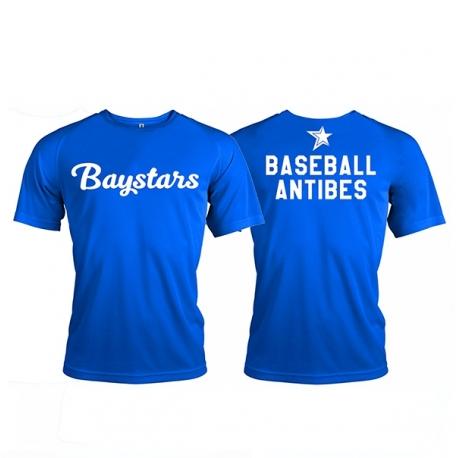 t-shirt sport Baystars d'Antibes