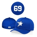 Casquette Baystars 495 royal Flex
