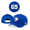 Casquette Baystars 414 royal reglable personnalisee