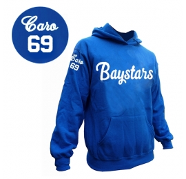Sweat a capuche Baystars royal personnalise