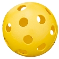 "Balle Wiffle jaune 9"""