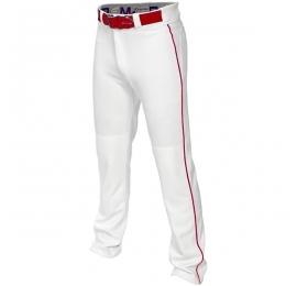 Pantalon adulte Easton MAKO 2 blanc a lisere rouge