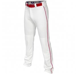Pantalon Easton MAKO 2 blanc a lisere rouge
