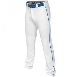 Pantalon adulte Easton MAKO 2 blanc lisere royal