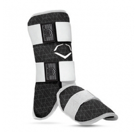 Protection pied-cheville-tibia EVOSHIELD adulte noir  LEG GUARD