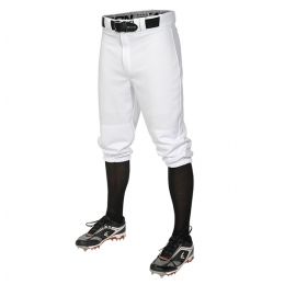 Pantalon adulte court Easton Pro+ Knicker blanc