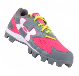 Chaussures FEMME UNDER ARMOUR GLYDE gris/rose