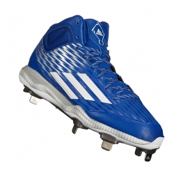 Chaussures ADIDAS POWER ALLEY Mid bleu