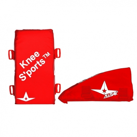 Coussins genoux Adulte Kneesaver All Star rouge