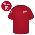 Batting Jacket Viperes rouge personnalise