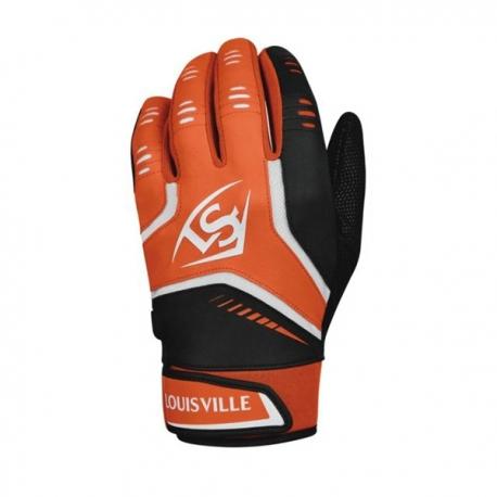 Gants de batting Louisville OMAHA orange