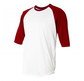 Undershirt Urban Classics adulte 3/4 rouge