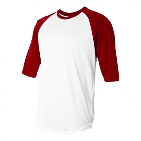 Undershirt Urban Classics adulte 3/4 rouge