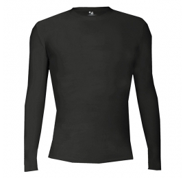 Pro Compression L/S Badger NOIR