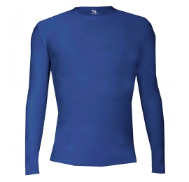 Pro Compression L/S Badger ROYAL