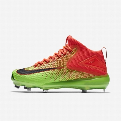super popular 17de4 d4b06 Chaussure NIKE Zoom Trout 3 Orange-Vert
