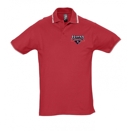 Polo Hawks rouge