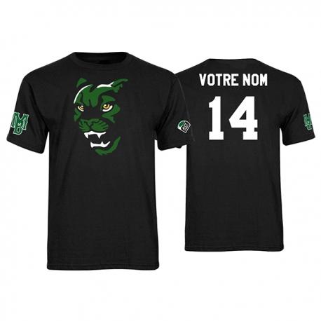 """T-shirt coton """"Tete de Cougars"""""""