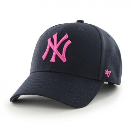Casquette 47 MVP New York Yankees Navy-rose