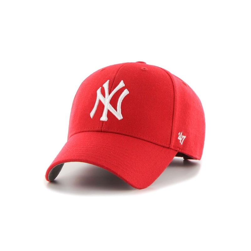 f2cf43be62562 Casquette 47 MVP New York Yankees Rouge. Loading zoom