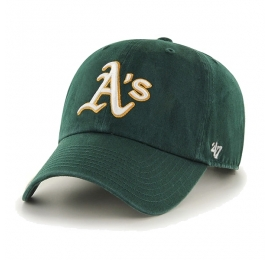 Casquette 47 Clean up Oakland Athletics Dark Green
