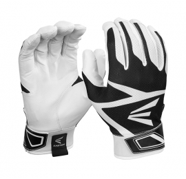 Gants de batting enfant  Easton Z3 Hyperskin blanc-noir