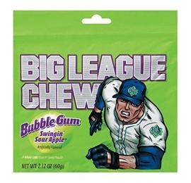Chewing gum Big League gout Pomme verte