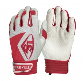 Gants de batting Louisville series 7 rouge