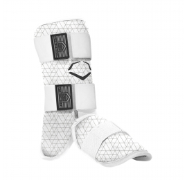 Protection pied-cheville-tibia EVOSHIELD adulte blanc  LEG GUARD