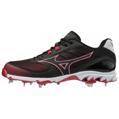 Chaussures Mizuno 9-Spike Dominant 2 Charcoal/Black