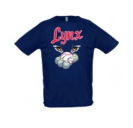 T-shirt 100% coton Lynx d'Angoulême