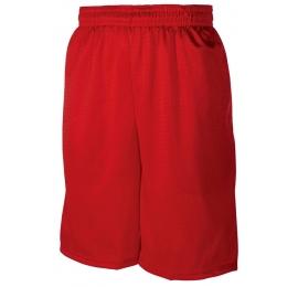 Short Badger Rouge avec poches