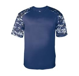 t-shirt camo navy