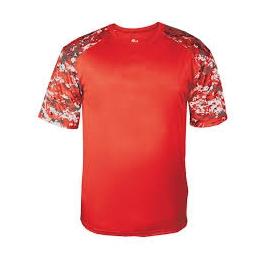 t-shirt camo orange