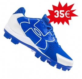 Chaussures UNDER ARMOUR CLEAN UP bleues enfant