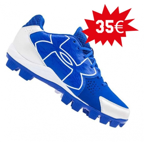 Chaussures UNDER ARMOUR CLEAN UP bleues