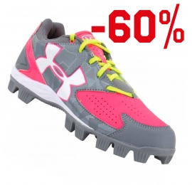 Chaussures UNDER ARMOUR GLYDE gris/rose