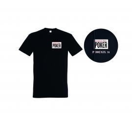 T-shirt NLC Poker noir