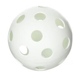 "Balle EASTON Wiffle 9"" blanche"