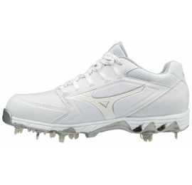 Mizuno 9-Spike Swift 6 blanche